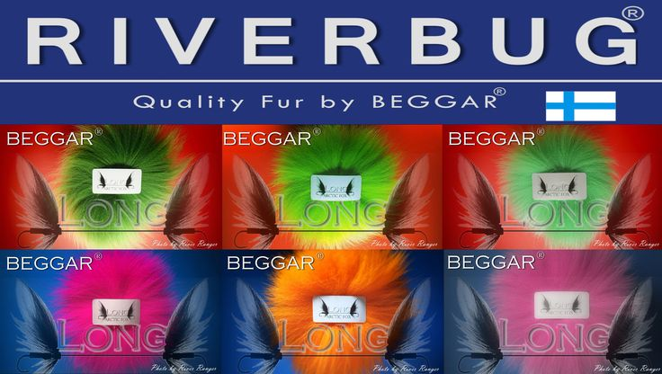 Part of RIVERBUG fox fur collection. 15 colours available. Made in Finland. www.riverbug.fi www.beggar.fi