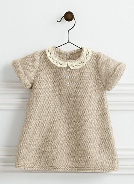 Ravelry: 782 - Lace Collar Dress by Bergère de France
