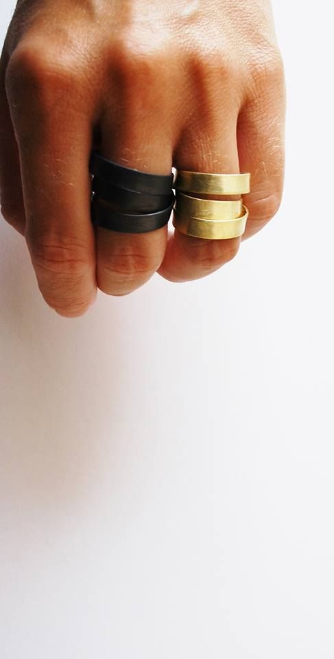 These wide bands are edgy, but cool! Check out some of our custom rings here: http://www.custommade.com/search/?q=rings