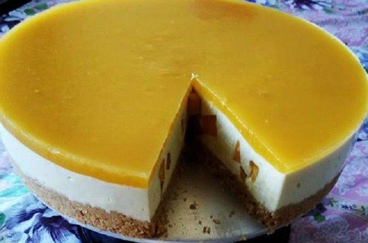 Resepi Mango Cheesecake Meletup Di Mulut Http Bit Ly 39ibwuc Selamat Berakhir Minggu Semua Hari Ini Kami Ingin Berbagi Resepi Mang Food Desserts Cafe