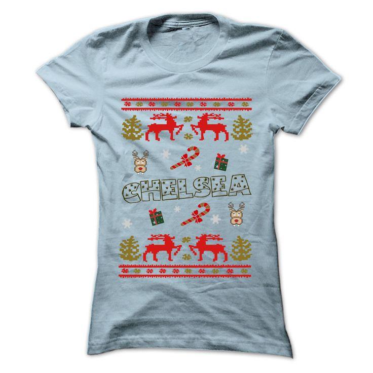 Christmas CHELSEA ... 999 Cool Name Shirt !