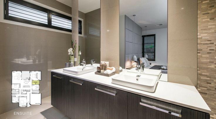 Our elegant ensuite bathroom. Spacious and modern. #weeksbuilding #home #house #bedroom #interior #decorating