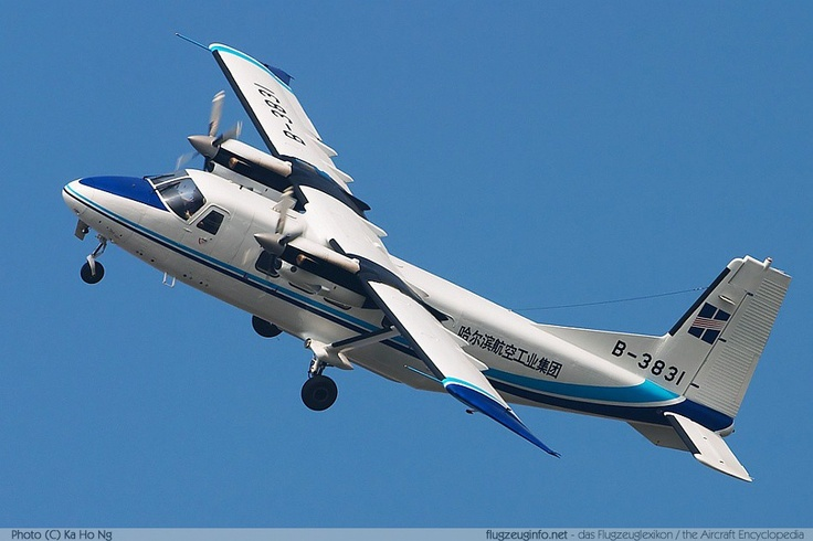 First flight of the Harbin Y-12 utility aircraft 14/7 1982.