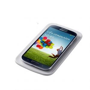 Samsung i9500 Galaxy S4 akkufedél vezeték nélküli (indukciós) töltéshez, GYÁRI EP-CI950IWEG – FEHÉR