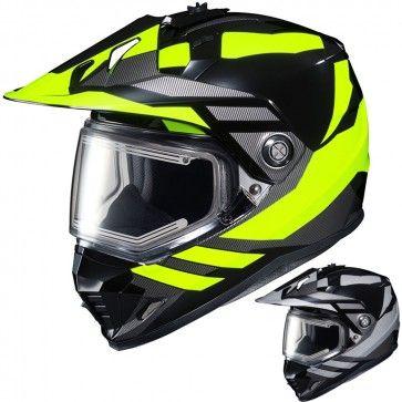 HJC DS-X1 Lander Mens Electric Snowmobile Cruising DOT Winter Sports Helmets