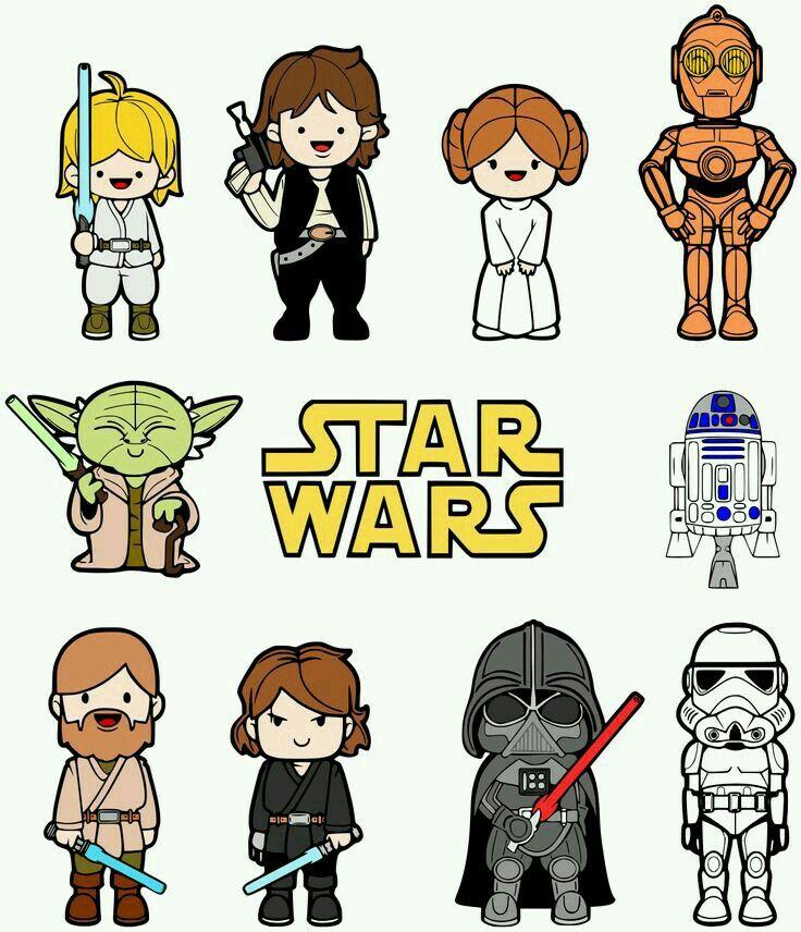 Las 25 mejores ideas sobre dibujos star wars en pinterest - Star wars couchtisch ...