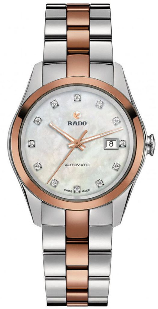 Rado Watch Hyperchrome Sm #bezel-fixed #bracelet-strap-gold #brand-rado #case-material-steel #case-width-30mm #date-yes #delivery-timescale-call-us #dial-colour-white #gender-ladies #luxury #movement-automatic #official-stockist-for-rado-watches #packaging-rado-watch-packaging #style-dress #subcat-hyperchrome #supplier-model-no-r32087902 #warranty-rado-official-2-year-guarantee #water-resistant-50m