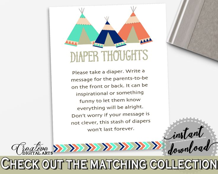 45 best Baby Shower Products in Tribal Teepee Theme, Invitations - baby shower message