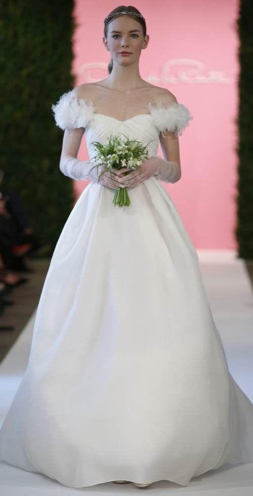 Trends 2015: Off-shoulder trouwjurken | In White