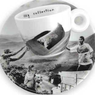 Illy Collection 2003 In Principio - Brazil, design by Sebastião Salgado