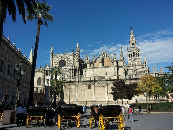 Sevilla,  wat een prachtige en sfeervolle stad! Ook fijn,  nog zo'n aangenaam weer in moment