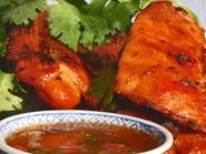 Thai Grilled/BBQ Chili-Lime Chicken: Thai Grilled Chicken with Chili-Lime Sauce