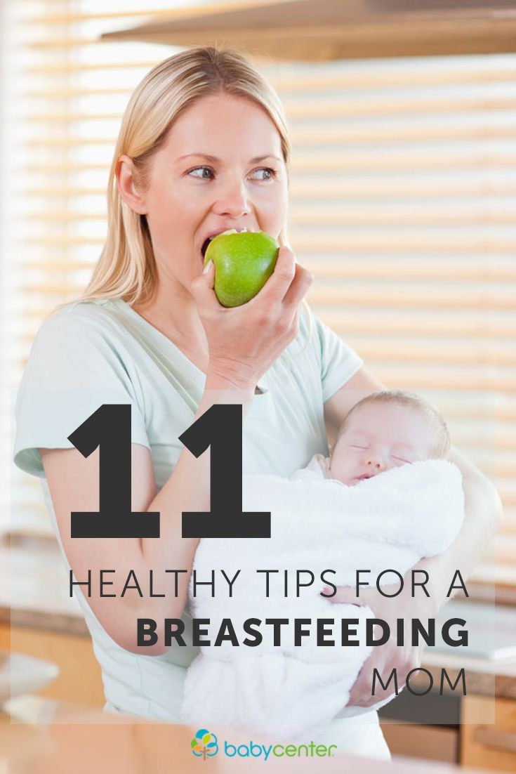 Week 37: Planning a Breastfeeding Diet - parents.com