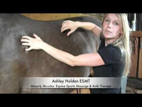 Before riding horse massage :) why not do it, besides your pony will love you!