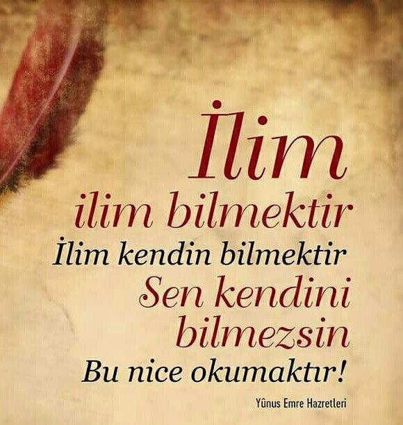 İlim ilim bilmektir. İlim kendini bilmektir. Sen kendini bilmezsin. Bu nice okumaktır.  [Yunus Emre Hazretleri]  #ilim #bilmek #nike #okuma #yunusemre #söz #yunus #islam #türkiye #ilmisuffa
