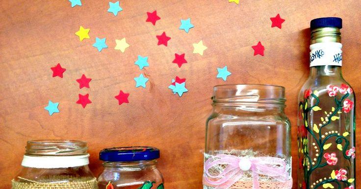 Τρεις ιδέες για DIY διακόσμηση στα βαζάκια και τα μπουκάλια της κουζίνας σου. http://ift.tt/2nm3wsD