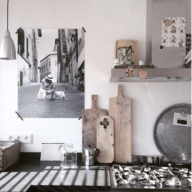www.zwartwitenhout.nl door Arja van Garderen fotografie & styling Keuken van stylist Arja van Garderen