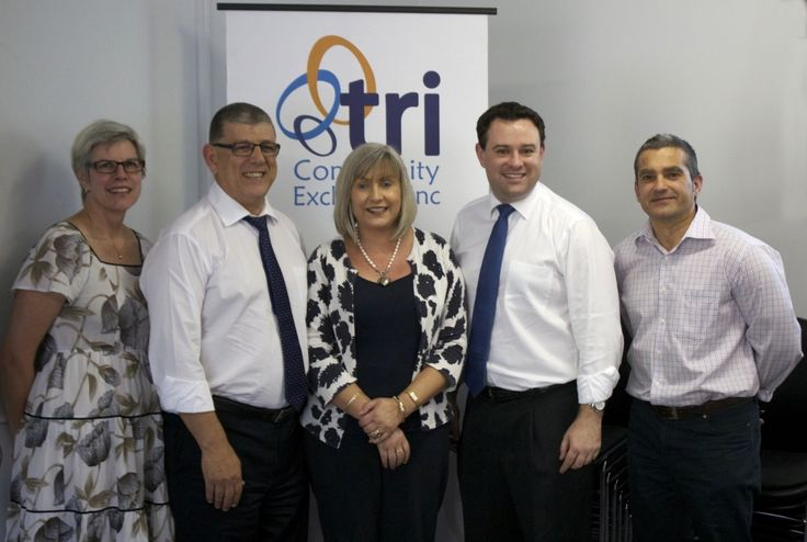 We had a chat at TRI yesterday with John Ajaka MLC, NSW Minister for Ageing & Disability Services and Stuart Ayres MP, Member for Penrith. Great to see sector development valued & supported in Western Sydney.