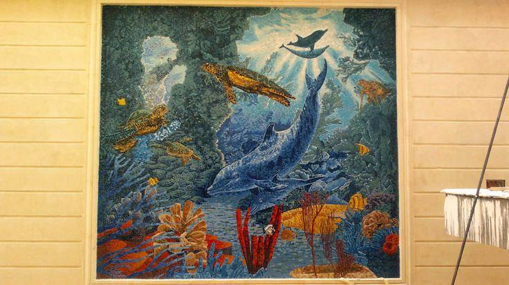 Mosaic aquarium 3