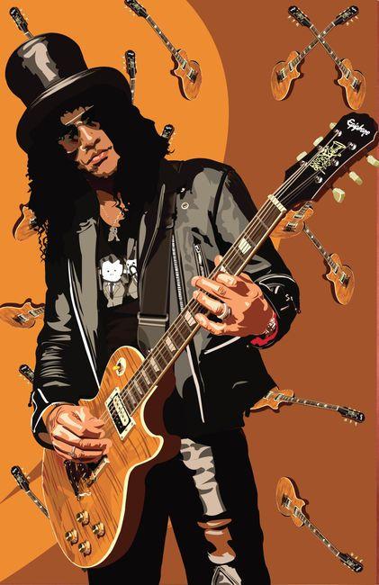 Slash-Guns N' Roses