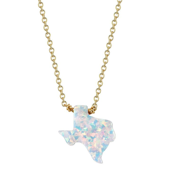 Best 25 texas necklace ideas on pinterest texas jewelry texas opal white texas necklace mana culture mozeypictures Images