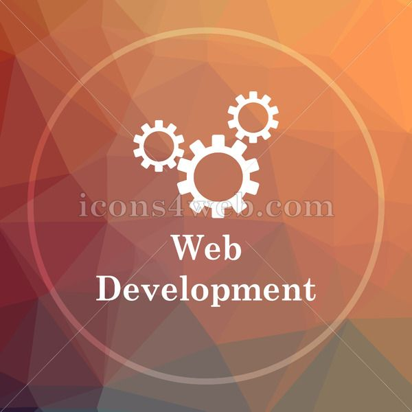 Web Development Low Poly Icon Website Low Poly Icon In 2020 Web Development Internet Icon Web Development Website