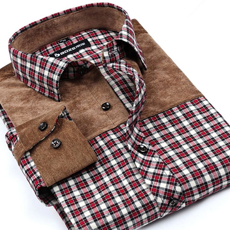 Spring Autumn new men's casual cotton red plaid shirt middle-aged checkered patchwork long-sleeved shirts male large size S-4XL  #Happy4Sales #bagshop #kids #handbags #backpack #WomenWallets #bag #L09582 #shoulderbags #YLEY #fashion #highschool  #NewArrivals