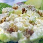 Receta de ensalada de apio y manzana