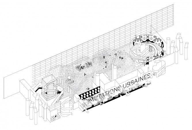 AWP wins competition to design the exhibition Urban Mutations at Cité des Sciences in Paris - Exhibition/Art - Projects - AWP