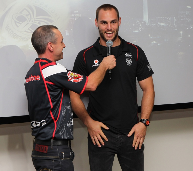 @ The Nation's Clubrooms - D'Arcy from RadioSport talks to Vodafone Warriors Captain Simon Mannering