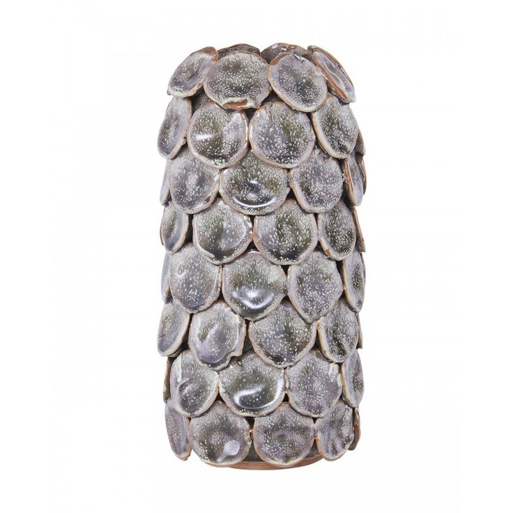 Váza DOT szürke - 10x19,2
