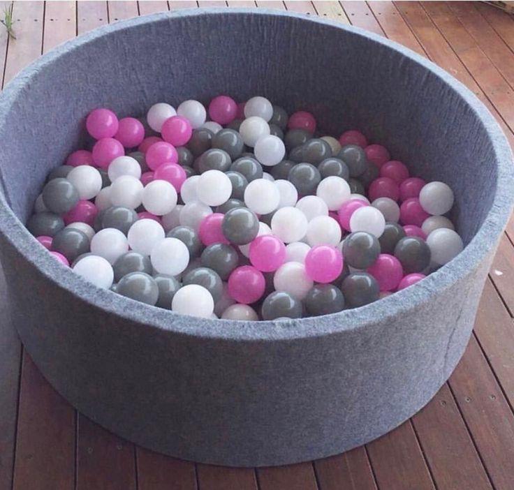 #modernballpit #ballpit #pinkandwhiteballpit