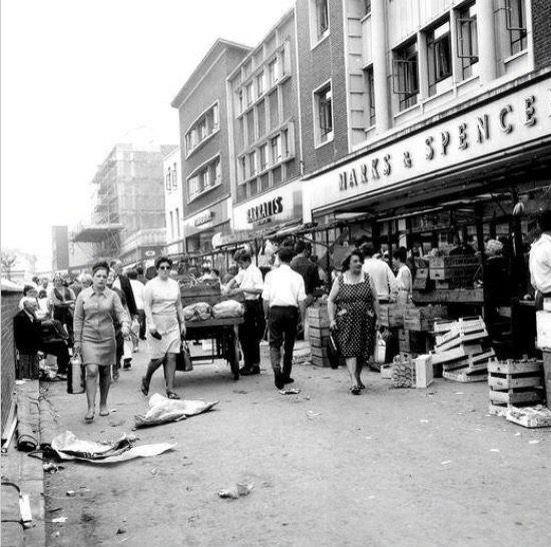 Lewisham High Street South East London England in 1968
