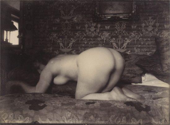 Eugène Atget. Femme nue 1925