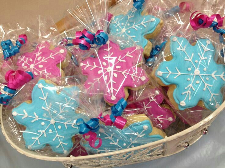 Snowflake Disney's Frozen cookies