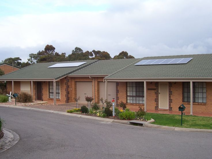 Solar panels at McLaren Vale Lodge