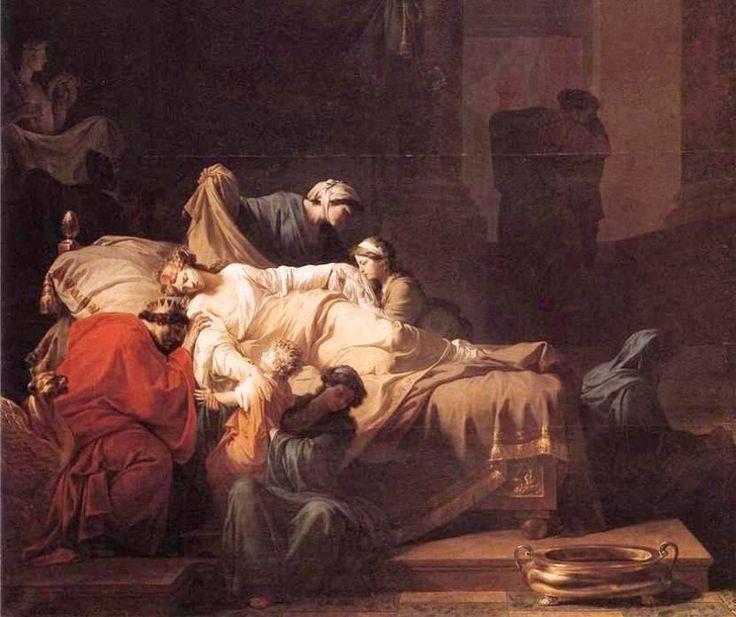 Peyron, Jean-François-Pierre - Alceste Mourante