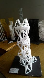 Contoh Nirmana 3D Media Sedotan ( Nirmana 3D Straw ) By : Dwiki Aji Dhika | Click the website to see more