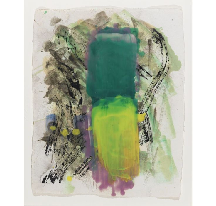 LYNDA BENGLIS Untitled, 1995-1996 Pigmented Wax on Paper 14 × 11 in 35.6 × 27.9 cm