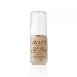 Eminence Vanilla Latte Tinted Moisturizer is a lightweight, sheer tinted moisturizer that provides a natural finish and complete sun protection. The natural formula won't clog pores, and includes antioxidants to protect against damage. $48