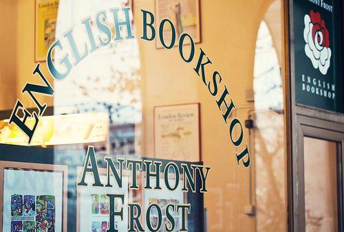 Anthony Frost bookshop