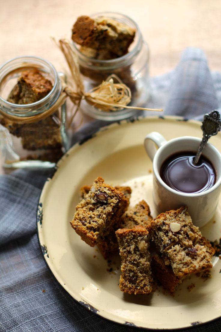 Crunchy Nutty Wheat Rusks (With Roast Hazelnut, Almond, Sunflower & Linseed) - Tanya Heathcote www.tanyaheathcote.com