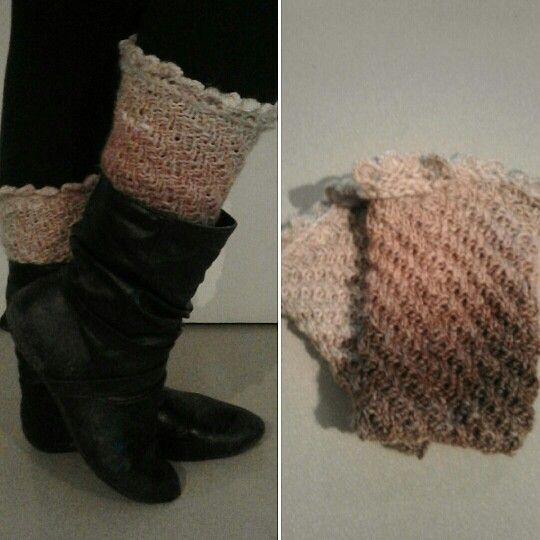 Self made boot cuffs