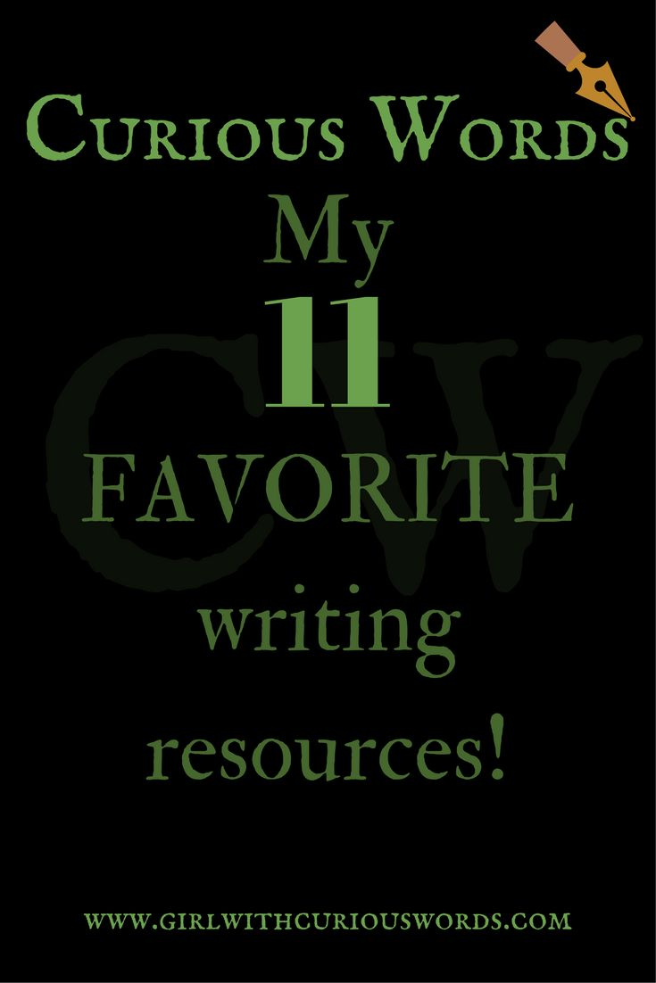 Looking for a few good writing resources? Here are my 11 favorite writing resources that I've reviewed over the past year through Curious Words.