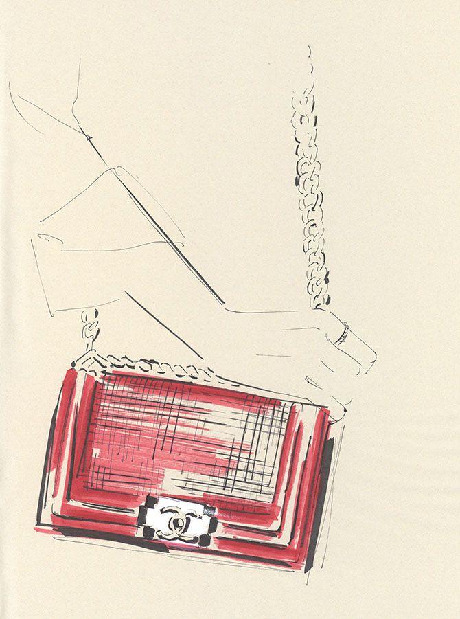 Yoco Nagamiya • favourite things illustrated 'Boy Chanel'