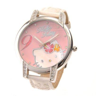 HELLO KITTY WATCHES-HKFR797-WHT-PK-01C S$15.00 on Singsale.com.sg