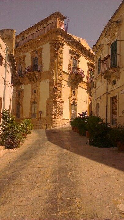 Scicli, palazzo Beneventano - Sicilia
