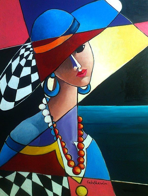 Rita cavallari my favorite art pieces pinterest paintings portraits and cubism - Pinturas de moda ...
