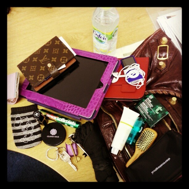 "@Richa Jain Sharma's photo: ""#myglossyhandbag @Glossybox Brasil UK @Glossybox Brasil UK"""