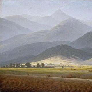 5 сентября 1774 года родился Каспар Давид Фридрих, живописец и рисовальщик, представитель немецкого романтизма.  Каспар Давид Фридрих. Горный пейзаж. Вид на Малую Штурмхаубе из Вармбрунна. Около 1810
